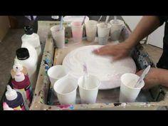 Flow Acrylics & PVA Demo - YouTube