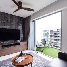 9 Stunning HDB Executive Maisonette Homes that Look Like Landed Property Scandinavian Interior Living Room, Scandinavian Modern, Interior Design Living Room, Condo Living Room, Interior Design Singapore, Home Photo, Home Decor Kitchen, Home Renovation, Home Projects