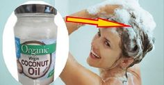 Use Coconut Oil - Learn how to put coconut oil on your hair to stop it from going gray, thinning or falling out - 9 Reasons to Use Coconut Oil Daily Coconut Oil Will Set You Free — and Improve Your Health!Coconut Oil Fuels Your Metabolism! Coconut Oil Hair Treatment, Coconut Oil Hair Mask, Prevent Grey Hair, Oil For Curly Hair, Hair Falling Out, Coconut Oil Uses, Coconut Milk, Hair Growth Tips, Hair Tips