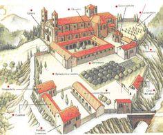 Monasterio Románico tipo