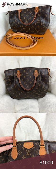 12590d112564 Louis Vuitton Turenne Monogram Bag Item  LV Monogram Turenne PM Bag with  removable adjustable crossbody