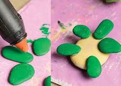 Image result for krokotak painting on stone kindergarten
