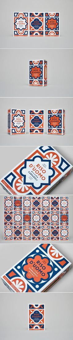 The Design For This Rice Brand Was Inspired By an Italian Cathedral's Floor Tiles — The Dieline | Packaging & Branding Design & Innovation News