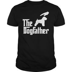 The DogFather Soft Coated Wheaton Terrier T-Shirts, Hoodies. SHOPPING NOW ==► https://www.sunfrog.com/Pets/The-DogFathe-Soft-Coated-Wheaton-Terrier-Black-Guys.html?id=41382