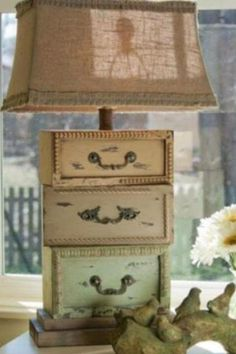 Now you know what to do with random old drawers!
