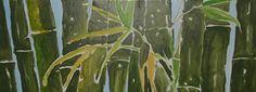 """""""Bambuswald"""" von Emo Schuschnig gemalt"""