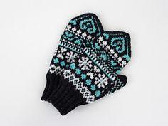 Ravelry: Ystävänpäivälapaset 2017 pattern by Niina Laitinen Mittens, Ravelry, Knit Crochet, Knitting, Pattern, Fingerless Mitts, Tricot, Breien, Patterns