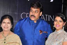Chiru Daughter Srija and Husband Party images