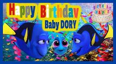 Happy Birthday  Baby Dory Reggae Style    Finding Dory   Los Juguetes Animados  #compartirvideos  #happybirthday