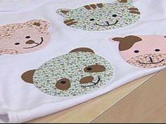Arte Brasil   Fastpatch em camiseta infantil - Valeria Souza