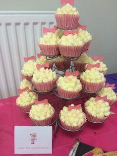 Lambie cupcakes