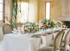 Photography : Jose Villa Photography | Venue : Cal-a-Vie Health Spa | Floral Design : Kelly Kaufman Design | Event Design : Joy Proctor Design | Styling : Joy Proctor Design Read More on SMP: http://www.stylemepretty.com/2016/02/29/dreamy-lilac-blush-wedding-inspiration/