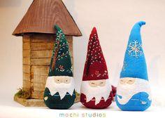 Felt Gnome Plushies | Flickr - Photo Sharing!