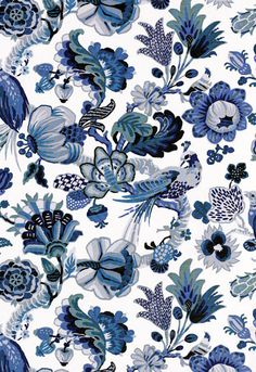 I think this is the one, fabric, color blue, pattern