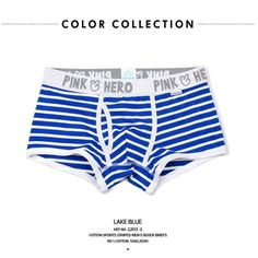 Pink Heroes Hot Sell Cheap New Mr Fashion Brand mens cotton boxer shorts fashion underwear male underwear sexy 0091203