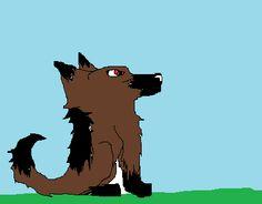 Tuko the German Sheperd. Just a random drawing of a dog.