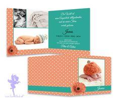Babykarte+Geburtskarte+Jonas+von+Feenstaub+auf+DaWanda.com
