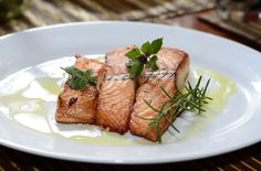 Tender salmon flesh and sweet flavorful honey is exactly what you need on a cold winter day!