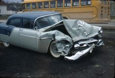 Vintage car wreck. CALL TODAY :  407-327-0410 -- Dr.Yandell,DC ---- www.drthomasyandell.com --- Have a BLESSED Day