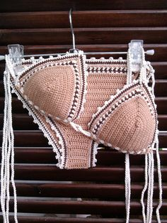 Sie Badebekleidungsoberteil crochet bikini set nude Deborah Bikini Crochet beachwear Crochet swimwear Crochet swimsuit Boho bikini gift for her gift for woman Source by crochet Motif Bikini Crochet, Knit Crochet, Bikini Pattern, Crochet Gifts, Bikini Modells, Bikini Tops, Bikini Mayo, Doll Bikini, Bikini Bottoms