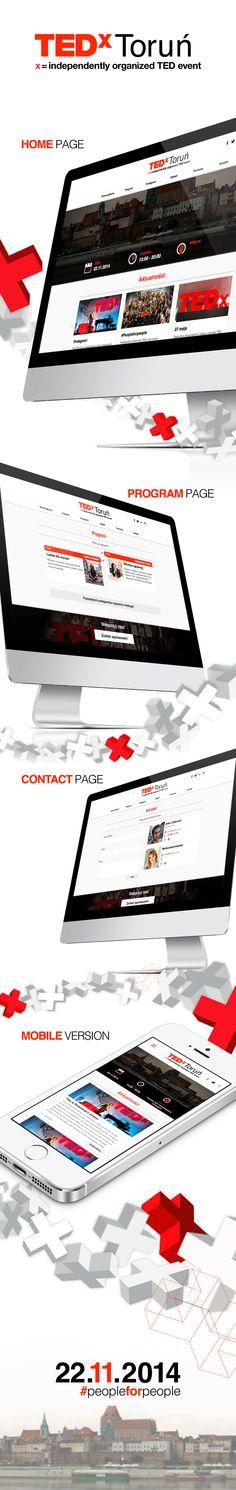 Website for TEDx event in Torun