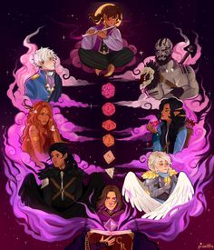 Critical Role Fan Art Gallery – Looking Back Critical Role Characters, Critical Role Fan Art, Dnd Characters, Critical Role Campaign 2, Vox Machina, Character Design Inspiration, Dungeons And Dragons, Cute Art, Character Art