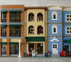 The Little Coffee Shop: A LEGO® creation by MoreCity Bricks : MOCpages.com