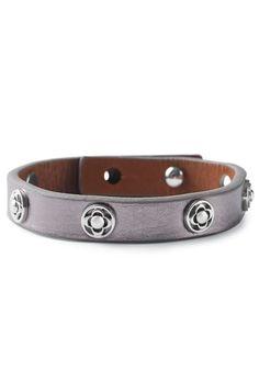 Clover Single Wrap Leather Bracelet - $39 by Stella & Dot  www.stelladot.com/marcelasauceda