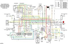 XS650 simplified and complete wiring diagram Motorcycle