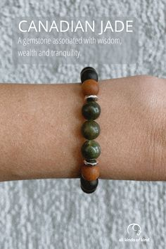 Jade has long been an amulet of good luck and friendship. It is said to bless whatever it touches and has long be revered for it's healing powers. Allergy Free, Allergies, Jade, Friendship, Healing, Gemstones, Handmade, Hand Made, Gems