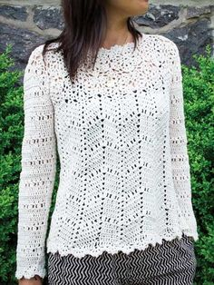 Adela Top | crochet pattern from Annie's $6
