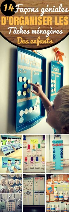 14 Tables Ideas for Children& Housework - - Discipline Positive, Education Positive, Chores For Kids, Activities For Kids, Diy Organisation, Setting Goals, Important, Kids And Parenting, Montessori
