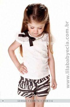 Conjunto Blusa com Shorts - Miss Cake