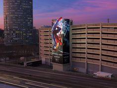 Sony Pictures pour Spider-Man, Porte de Versailles, Paris, staged by ATHEM