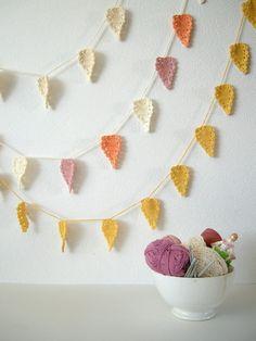 Crochet garland pattern on Etsy
