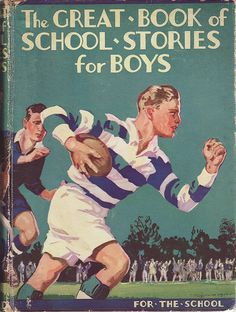 I really enjoy these old English books for boys from the 20s and 30s! Great artwork, vivid colours and energetic rugby action... introducing glorious rugby stories where young boys could be the star of a day... Sean Fagan's most recent...