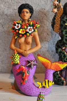 Sirena Mermaid Oaxaca - Concepcion Aguilar | Flickr - Photo Sharing!