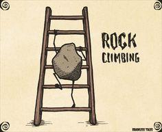 Rock Climbing #Puns #Humor