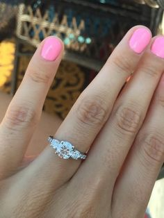 Now THIS is the perfect engagement ring!