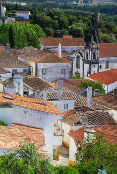 Óbidos - un très beau village fortifié au Portugal
