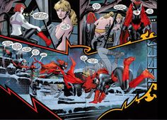 batwoman panel from batwoman 1 : j. h. williams III art