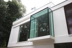 Mekan iq-glass-white-lodge-architectural-glass Considerable Fragrance Selections There are such Bay Window Exterior, Bay Window Curtains, Dormer Windows, Bay Windows, Window Benches, House Extensions, Window Design, House Front, Glass Door