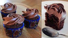 Superfood, Sweet Recipes, Cake Recipes, Norwegian Food, Norwegian Recipes, Snacks, Frosting, Chocolate Cake, Baked Goods