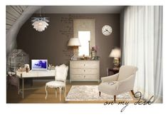 """""""On My Desk"""" by wishuponastar34 ❤ liked on Polyvore featuring interior, interiors, interior design, home, home decor, interior decorating, Meli Melo, Ralph Lauren Home, Wild & Wolf and INC International Concepts"""