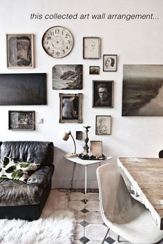What a fabulous gallery wall. I'm feeling inspired to change mine up. favpins30 karel balas frenchbydesignblog
