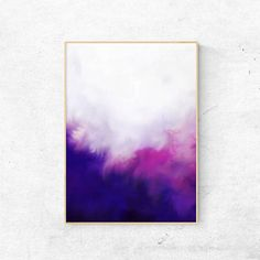 Abstract Purple Printable Wall Art Abstract Pink Printable