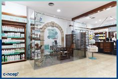 Farmacia Ojeda - Valencia (Spain) #Concep· #Interiordesing #design #style #interior #deco #farmacia #pharmacy