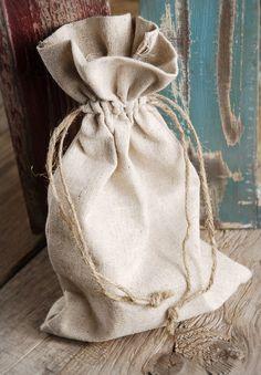 Linen Bags 6x10 (12 bags / pkg) $12.99 pkg