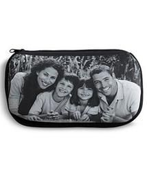 Personalized Black and White Photo Cosmetic Bag  $14.99