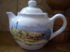 Peggy's Cove Nova Scotia... on teapot.